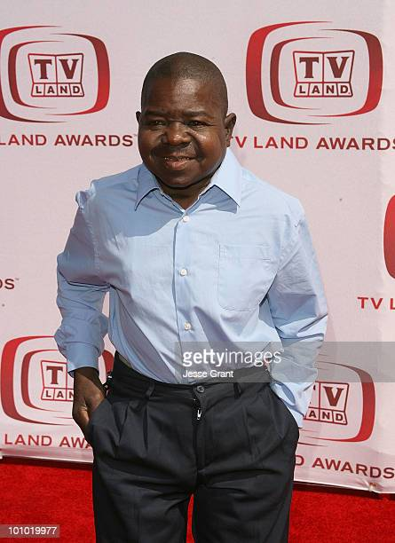 Actor Gary Coleman arrives at the 6th annual TV Land Awards held at Barker Hangar on June 8 2008 in Santa Monica California