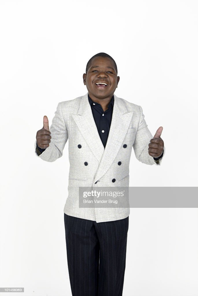 Actor Gary Coleman poses for a portrait session for the Los Angeles Times on August 20, 2003, Los Angeles, CA.