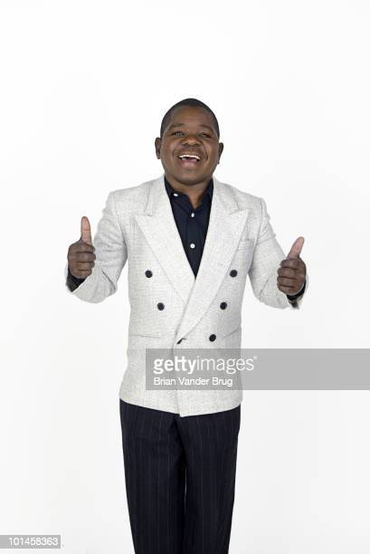 Actor Gary Coleman poses for a portrait session for the Los Angeles Times on August 20 Los Angeles CA CREDIT MUST READ Brian Vander Brug/Los Angeles...