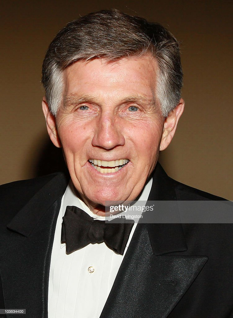 Actor Gary Collins attends the Eagle & Badge Foundation Gala Honors at the Hyatt Regency Century Plaza on August 21, 2010 in Century City, California.
