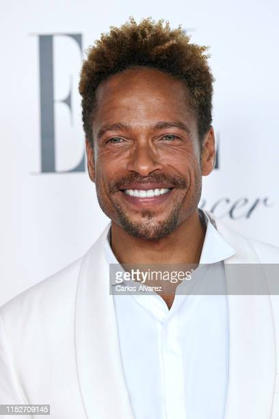 Actor Gary Dourdan attends ELLE Charity Gala 2019 to raise funds for cancer at Intercontinental Hotel on May 30, 2019 in Madrid, Spain.
