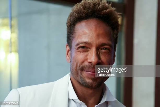 Actor Gary Dourdan attends ELLE Charity Gala 2019 to raise funds for cancer at Intercontinental Hotel on May 30 2019 in Madrid Spain