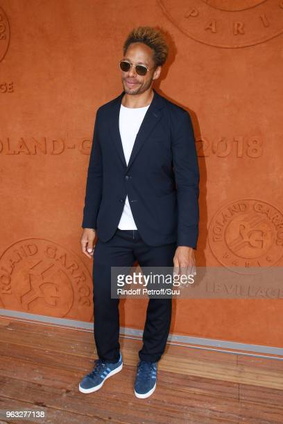 Actor Gary Dourdan attends the 2018 French Open Day Two at Roland Garros on May 28 2018 in Paris France