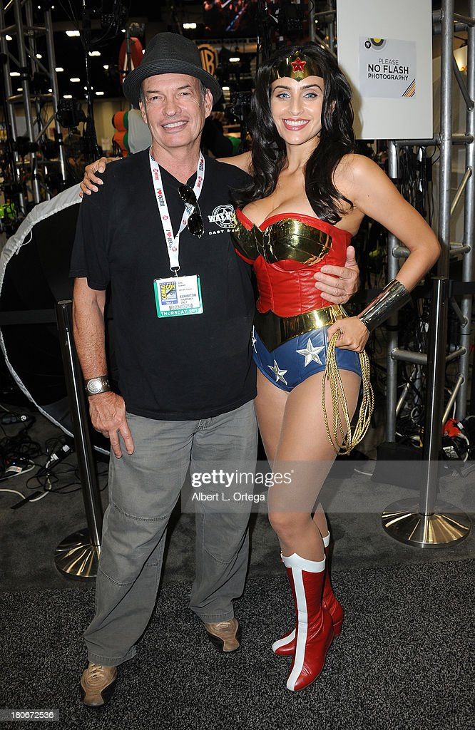 Actor Gary Graham and actress/cosplayer Valerie Perez attend Day 1 of the 2013 Comic-Con International - General Atmosphere held at San Diego Convention Center on Thursday July 18, 2012 in San Diego, California.