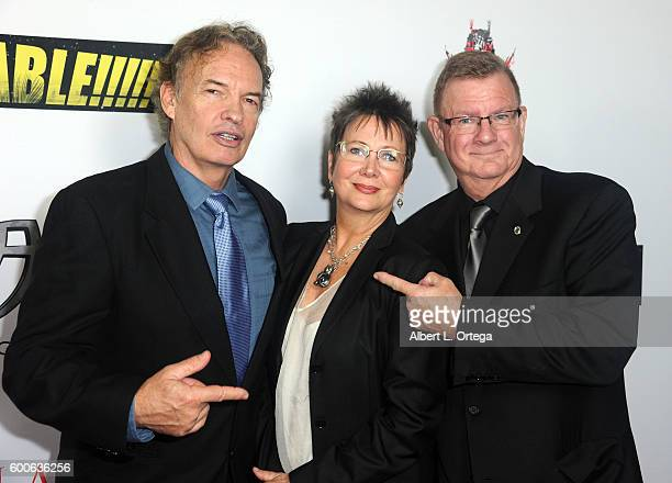 Actor Gary Graham and producer Len McLeod arrive for the Premiere Of 'UNBELIEVABLE' held at TCL Chinese 6 Theatres on September 7 2016 in Hollywood...