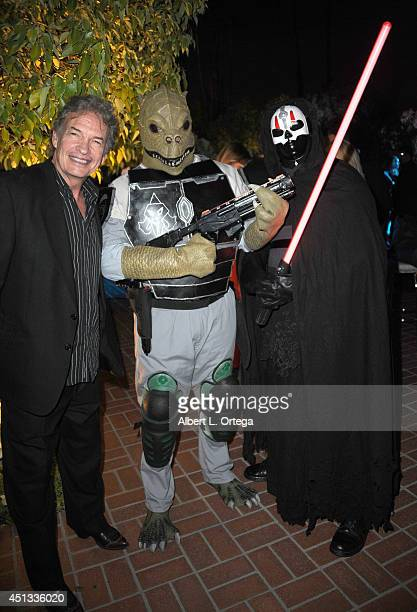 Actor Gary Graham with members of Dark Side Riders attend the After Party for the 40th Annual Saturn Awards held at on June 26 2014 in Burbank...