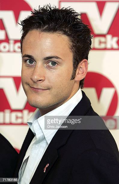 Actor Gary Lucy arrives at the TV Quick and TV Choice Awards at the Dorchester Hotel Park Lane on September 4 2006 in London England