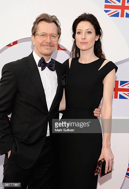 Actor Gary Oldman and Alexandra Edenborough attend the GREAT British Film Reception to honor the British nominees of The 84th Annual Academy Awards...