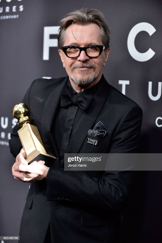 Actor Gary Oldman arrives at 2018 American Rescue Dog Show on January 7, 2018 in Beverly Hills, California.
