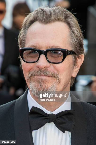 Actor Gary Oldman attends Closing Ceremony screening of The Man Who Killed Don Quixote during the 71st annual Cannes Film Festival at Palais des...
