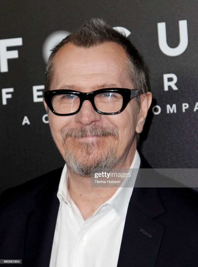 Actor Gary Oldman attends Focus Features luncheon and studio program celebrating 15 Years during CinemaCon 2017 at Caesars Palaceon March 29, 2017 in Las Vegas, Nevada.