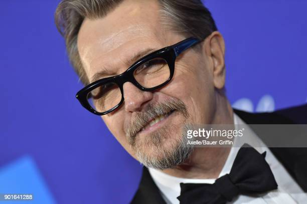 Actor Gary Oldman attends the 29th Annual Palm Springs International Film Festival Awards Gala at Palm Springs Convention Center on January 2 2018 in...