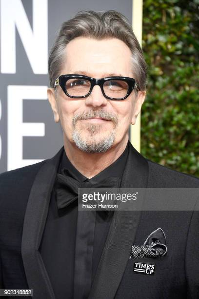 Actor Gary Oldman attends The 75th Annual Golden Globe Awards at The Beverly Hilton Hotel on January 7 2018 in Beverly Hills California