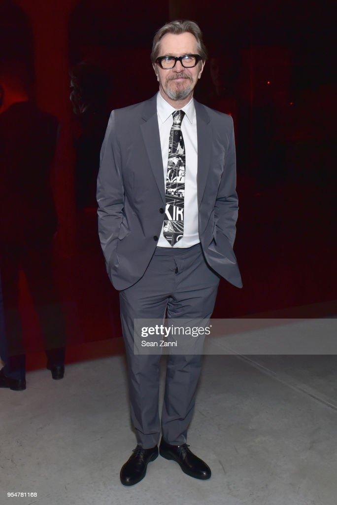 Actor Gary Oldman attends the Prada Resort 2019 fashion show on May 4, 2018 in New York City.