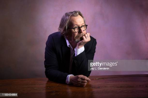 Actor Gary Oldman from 'The Laundromat' is photographed for Los Angeles Times on September 9 2019 at the Toronto International Film Festival in...