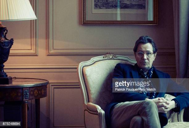 Actor Gary Oldman is photographed for Paris Match on December 14 2012 in Paris France