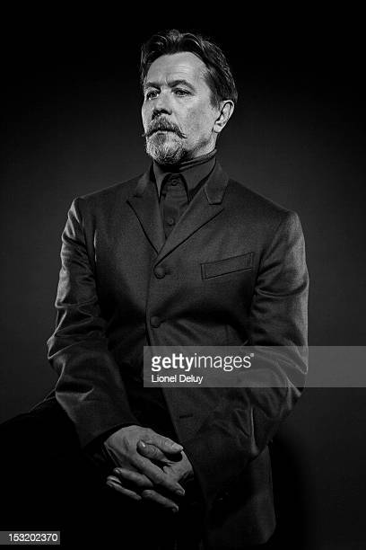 Actor Gary Oldman is photographed for Self Assignment on April 18 2012 in Los Angeles California