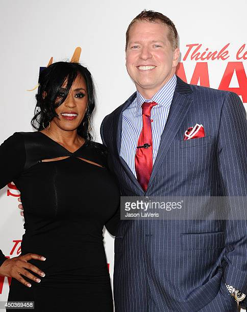 Actor Gary Owen and wife Kenya Duke attend the premiere of Think Like A Man Too at TCL Chinese Theatre on June 9 2014 in Hollywood California