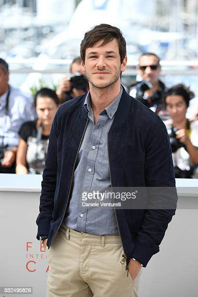 Actor Gaspard Ulliel attends 'It's Only The End Of The World ' during the Photocall - The 69th Annual Cannes Film Festival on May 19, 2016 in Cannes,...