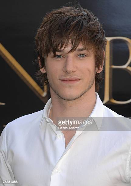 Actor Gaspard Ulliel attends photocall for ?Hannibal Rising? on March 15, 2007 at Hotel Villamagna in Madrid