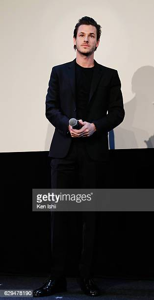 Actor Gaspard Ulliel attends the 'It's Only the End of the World' Premiere on December 13 2016 in Tokyo Japan