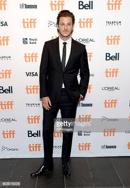 Actor Gaspard Ulliel attends the It's Only The End Of The World premiere during the 2016 Toronto International Film Festival at TIFF Bell Lightbox on...