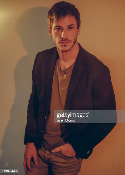 Actor Gaspard Ulliel is photographed for Grazia Daily on April 2018 in Cannes France
