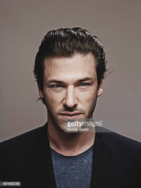 Actor Gaspard Ulliel is photographed for Self Assignment on May 16 2014 in Cannes France
