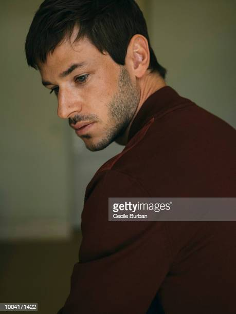 Actor Gaspard Ulliel is photographed for Self Assignment on May 2018 in Cannes France