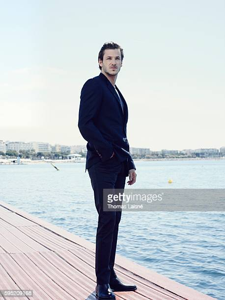Actor Gaspard Ulliel is photographed for Self Assignment on May 23 2014 in Cannes France