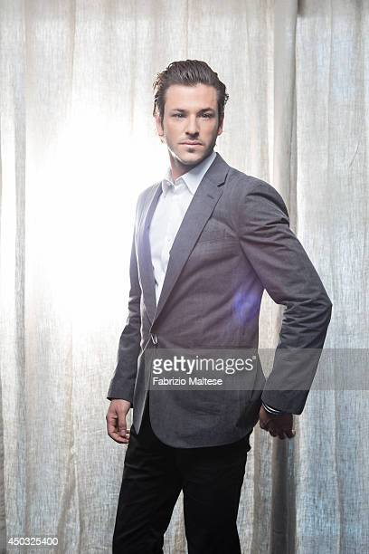 Actor Gaspard Ulliel is photographed in Cannes France
