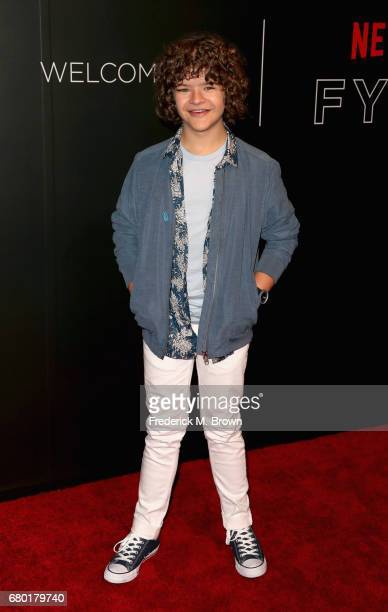 Actor Gaten Matarazzo arrives at the Netflix FYSee Kick Off Event at Netflix FYSee Space on May 7 2017 in Beverly Hills California