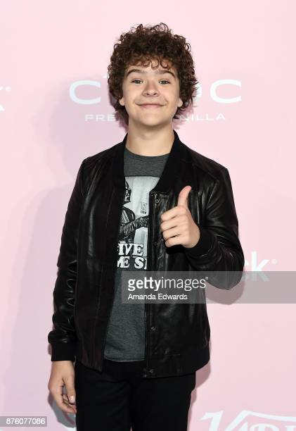 Actor Gaten Matarazzo arrives at Variety's 1st Annual Hitmakers Luncheon at Sunset Tower on November 18 2017 in Los Angeles California