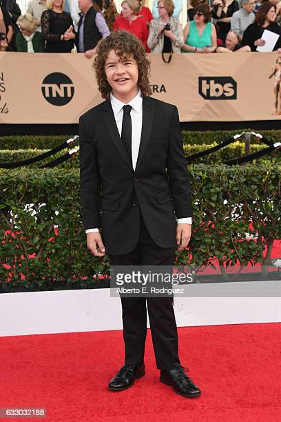 Actor Gaten Matarazzo attends the 23rd Annual Screen Actors Guild Awards at The Shrine Expo Hall on January 29 2017 in Los Angeles California
