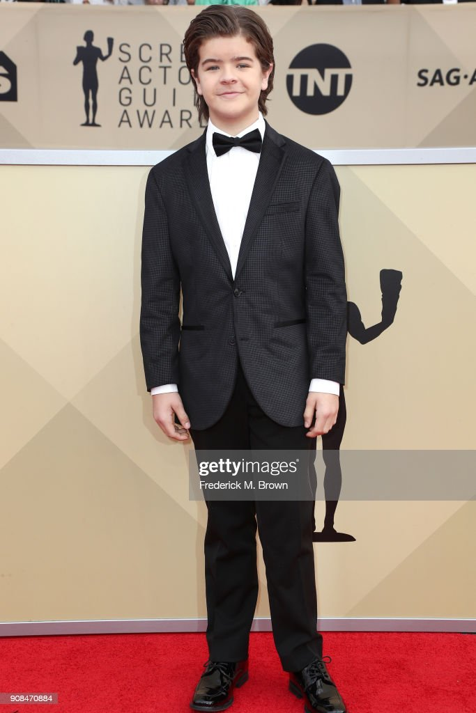 Actor Gaten Matarazzo attends the 24th Annual Screen Actors Guild Awards at The Shrine Auditorium on January 21, 2018 in Los Angeles, California. 27522_017