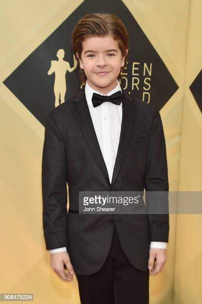 Actor Gaten Matarazzo attends the 24th Annual Screen Actors Guild Awards at The Shrine Auditorium on January 21 2018 in Los Angeles California