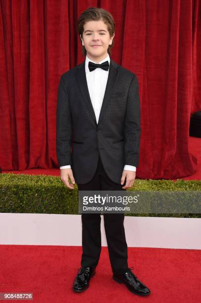Actor Gaten Matarazzo attends the 24th Annual Screen Actors Guild Awards at The Shrine Auditorium on January 21 2018 in Los Angeles California...