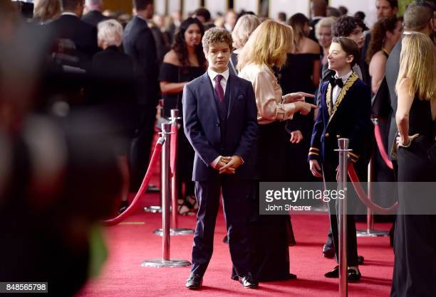 Actor Gaten Matarazzo attends the 69th Annual Primetime Emmy Awards at Microsoft Theater on September 17 2017 in Los Angeles California