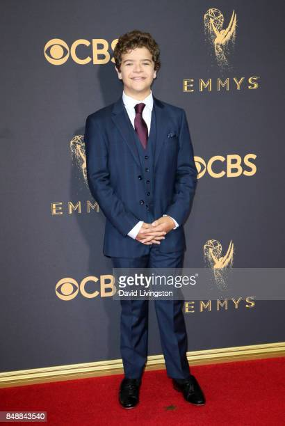 Actor Gaten Matarazzo attends the 69th Annual Primetime Emmy Awards Arrivals at Microsoft Theater on September 17 2017 in Los Angeles California