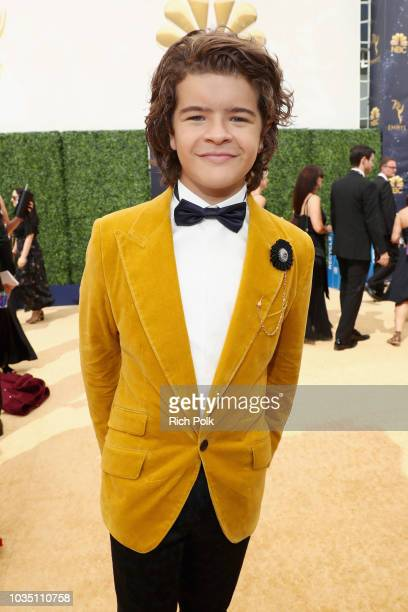Actor Gaten Matarazzo attends the 70th Annual Primetime Emmy Awards at Microsoft Theater on September 17 2018 in Los Angeles California