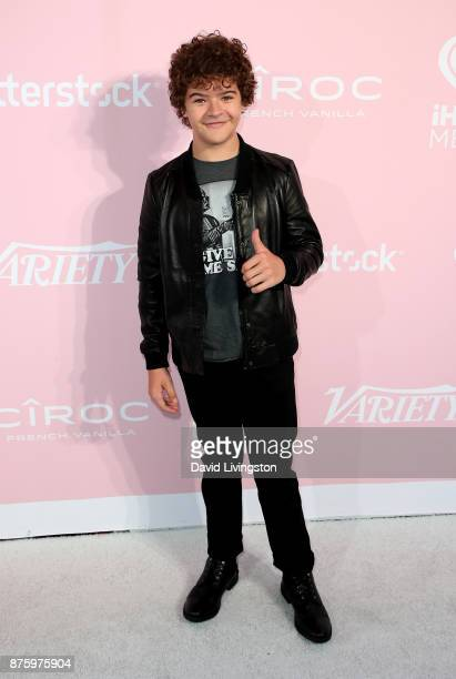 Actor Gaten Matarazzo attends Variety's 1st Annual Hitmakers Luncheon at Sunset Tower on November 18 2017 in Los Angeles California