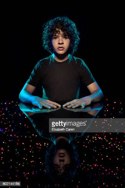 Actor Gaten Matarazzo is photographed for The Wrap on June 3 2017 in Los Angeles California PUBLISHED IMAGE
