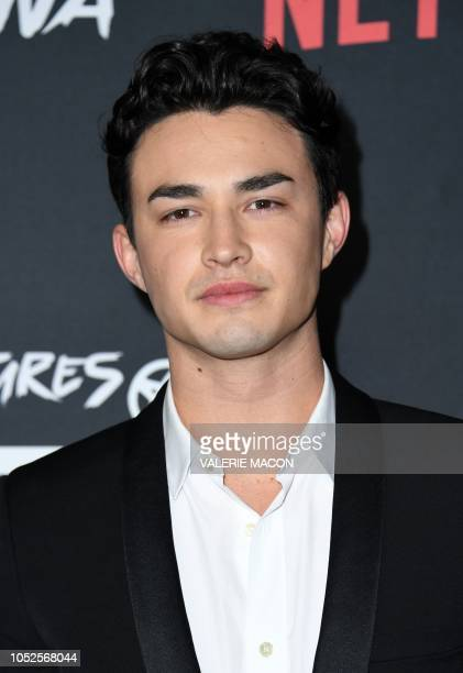 Actor Gavin Leatherwood arrives at the Season 1 Netflix's Chilling Adventures of Sabrina Premiere at the Hollywood Athletic Club on October 19 2019...