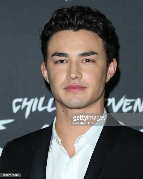 Actor Gavin Leatherwood attends the premiere of Netflix's Chilling Adventures Of Sabrina at the Hollywood Athletic Club on October 19 2018 in...