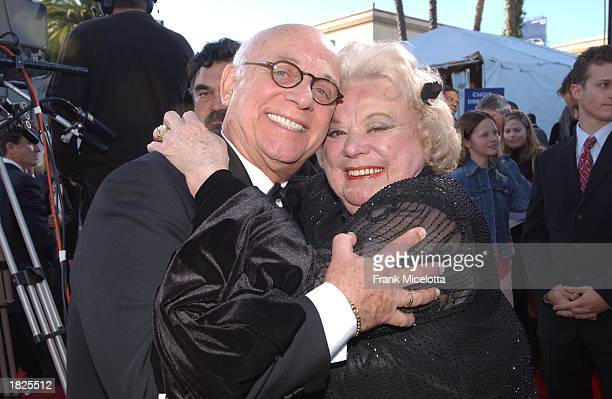 Actor Gavin MacLeod and actress Rose Marie attend the TV Land Awards 2003 at the Hollywood Palladium on March 2 2003 in Hollywood California