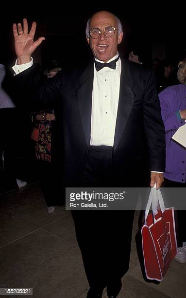 Actor Gavin MacLeod attends Friends of Childhelp Benefit Gala Honoring Ginger Rogers on March 1 1991 at the Beverly Hilton Hotel in Beverly Hills...