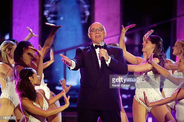 Actor Gavin MacLeod performs during the TV Land Awards 2003 at the Hollywood Palladium on March 2 2003 in Hollywood California
