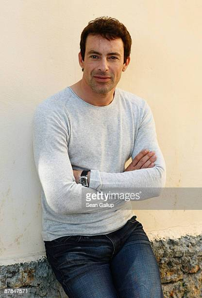Actor Gedeon Burkhard poses for an Inglourious Basterds portrait session during the 62nd International Cannes Film Festival on May 19, 2009 in...