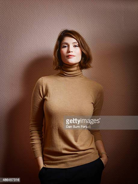 Actor Gemma Arterton is photographed for the Telegraph on October 2, 2014 in London, England.