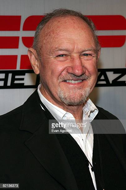 Actor Gene Hackman attends the Next House ESPN The Magazine party on February 4 2005 in Jacksonville Florida